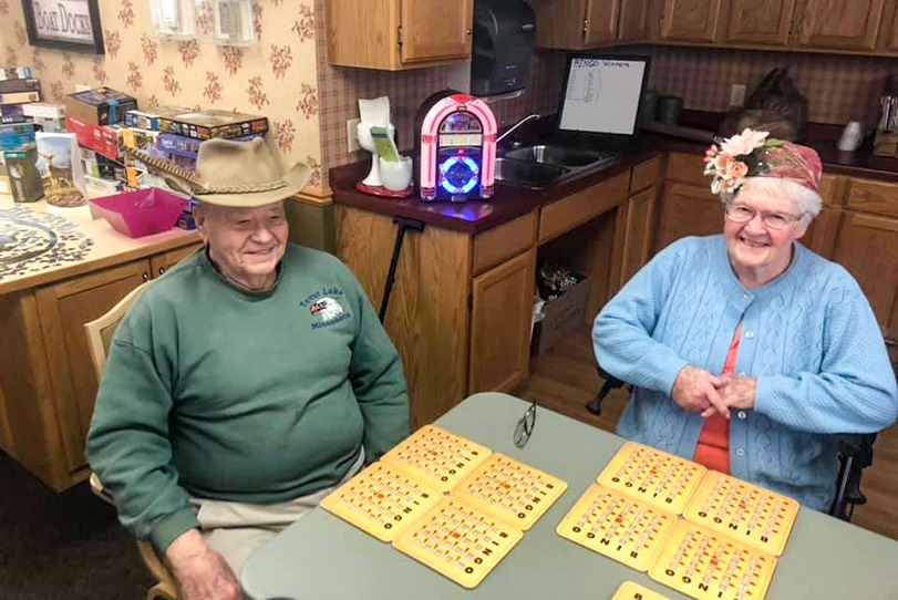 Resident activities at River Grand
