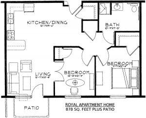 River grand floor plan